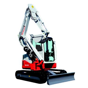 竹内TB153FR小型挖掘机