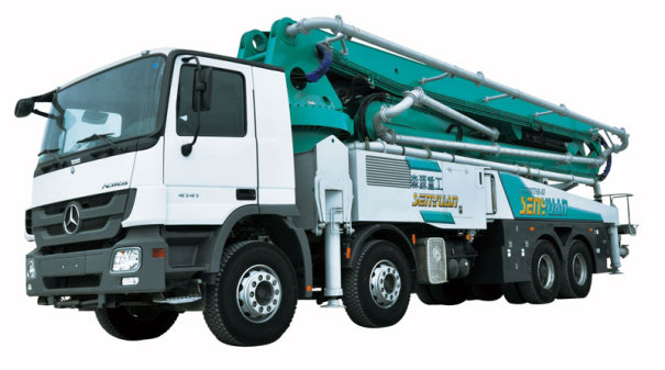 森源重工50米泵车