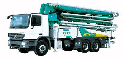 森源重工SMQ5330THB42米泵车高清图 - 外观