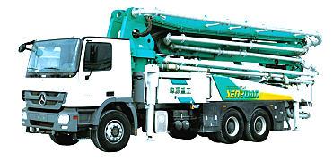 森源重工SMQ5330THB42米泵车