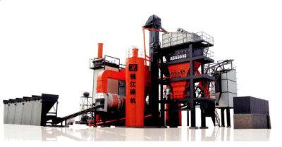 镇江路机AMP1200C沥青混合料搅拌设备高清图 - 外观