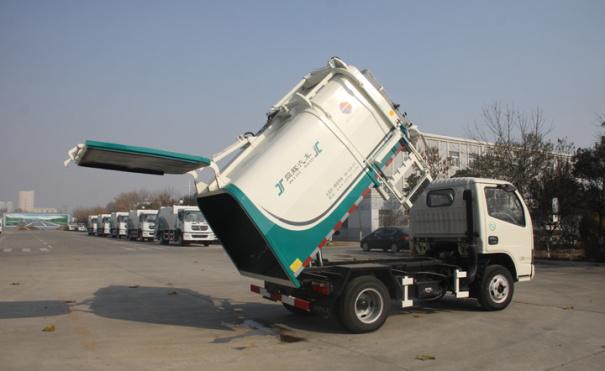 同辉汽车QTH5043ZZZ东风5方侧装挂桶垃圾车