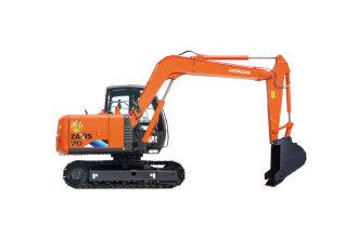 日立ZX70-5A挖掘机高清图 - 外观