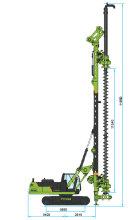 泰信机械KR150M旋挖钻机高清图 - 外观