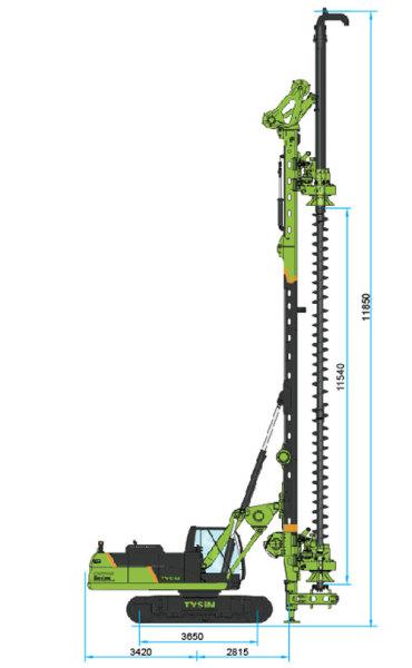 泰信机械KR150M旋挖钻机