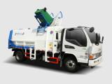 同辉汽车QTH5083ZZZ(带推板)10方江淮底盘侧装式挂桶垃圾车