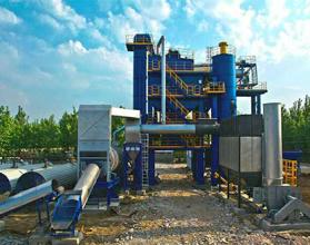 博达重工LB2500型沥青搅拌设备高清图 - 外观