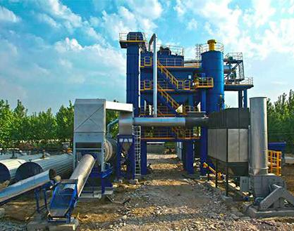 博达重工LB2500型沥青搅拌设备