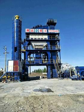 博达重工LB3000型沥青搅拌设备