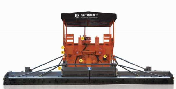 鎮江路機SAP125多功能攤鋪機
