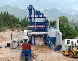博达重工LB1500型沥青搅拌设备