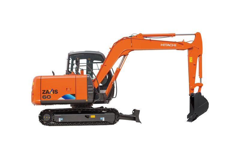 日立ZX60-5A迷你挖掘机