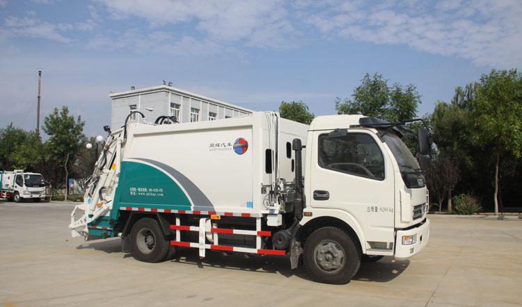 同辉汽车QTH5082ZYSA7方东风底盘后装压缩式垃圾车