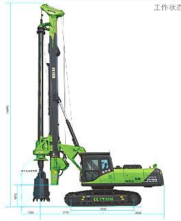 泰信机械KR125A旋挖钻机