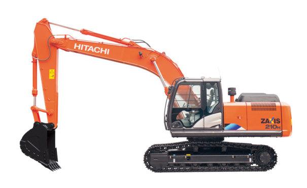 日立ZX210H-5A中型挖掘∴机