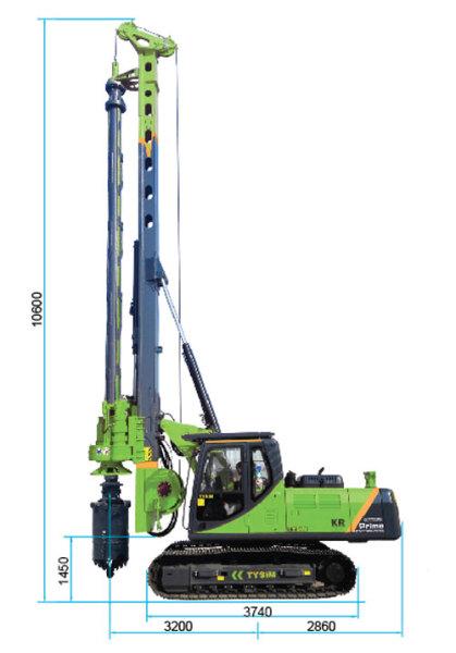 泰信机械KR60A旋挖钻机