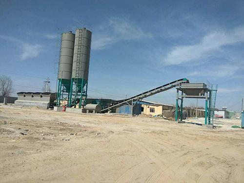 博达重工600T稳定土拌和设备