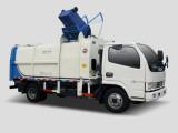 同辉汽车QTH5079ZZZ(带推板)东风9方侧装挂桶垃圾车