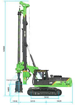 泰信机械KR125C旋挖钻机