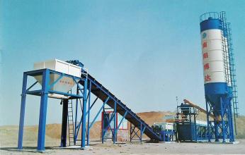 博达重工500T稳定土拌和设备高清图 - 外观