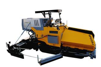 天顺长城SP935SJ多功能沥青摊铺机高清图 - 外观