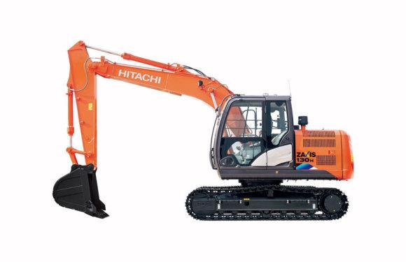 日立ZX130H-5A小型挖掘機