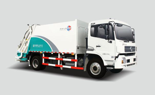 同辉汽车QTH5162ZYSA14方东风天然气(CNG)压缩式垃圾车