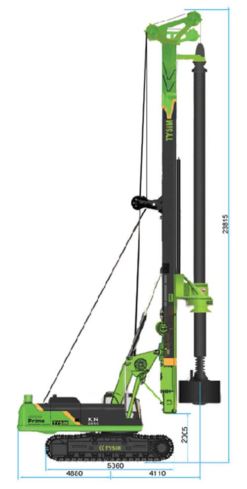泰信机械KR285C旋挖钻机