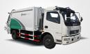 同辉汽车QTH5085ZYS7方天然气(CNG)后装压缩式垃圾车高清图 - 外观