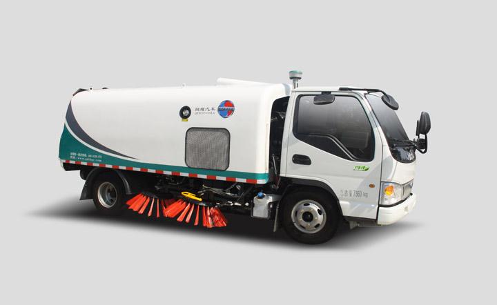 同辉汽车QTH5070TSLA3.5方江淮底盘湿式扫路车高清图 - 外观