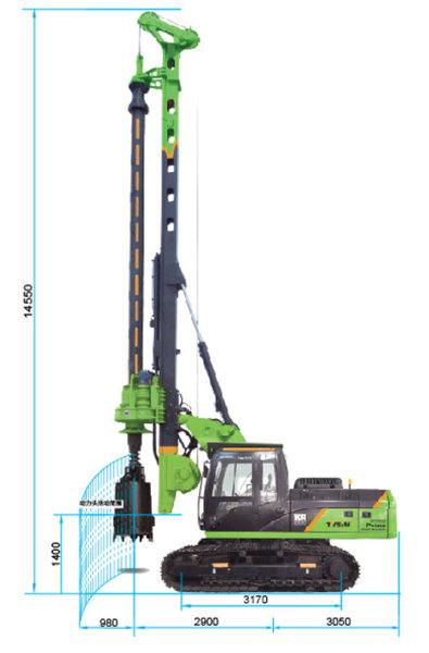 泰信机械KR90C旋挖钻机