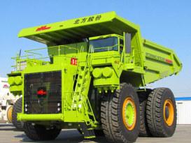 内蒙古北方重工NTE200电传动矿用自卸车