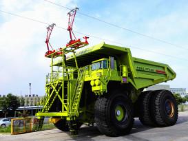 内蒙古北方重工NTE360电传动矿用自卸车