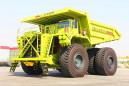 内蒙古北方重工NTE330电传动矿用自卸车高清图 - 外观