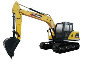 玉柴YC150-9挖掘机高清图 - 外观