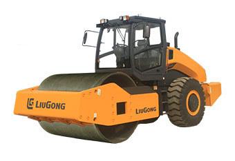 柳工CLG6622E全液壓單驅單鋼輪壓路機
