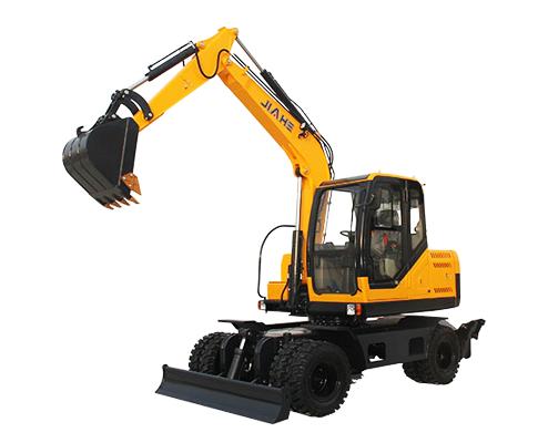 嘉和重工JHW80轮式挖掘机高清图 - 外观