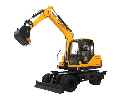 嘉和重工JHW80轮式挖掘机