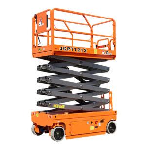 鼎力JCPT1012HD自行走剪叉式高空作业平台(液压马达驱动)