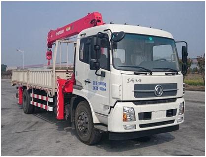 国机常林CHL5160JSQD5随车起重运输车高清图 - 外观