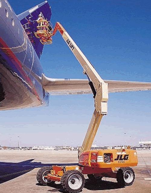 美国JLGE300电动曲臂式高空作业平台高清图 - 外观