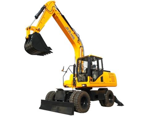 嘉和重工JHW135轮式挖掘机
