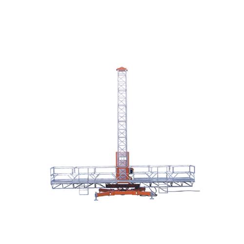 鼎力MCWP2700S导架爬升式高空作业平台(单桅)高清图 - 外观