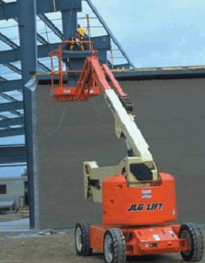 美国JLG450A曲臂式高空作业平台
