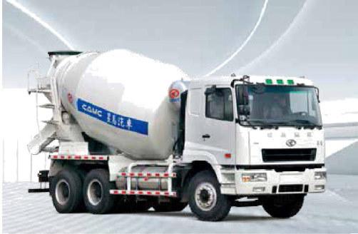 华菱星马AH5259GJB5LNG5搅拌运输车