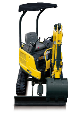 洋馬ViO17(橡膠履帶)挖掘機
