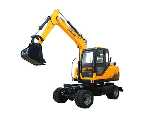 嘉和重工JHW70轮式挖掘机高清图 - 外观