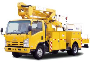 海伦哲XHZ5091JGKQ5庆铃14.9m绝缘臂高空作业车高清图 - 外观