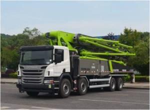中联重科ZLJ5440THBJE  56X-6RZ泵车高清图 - 外观