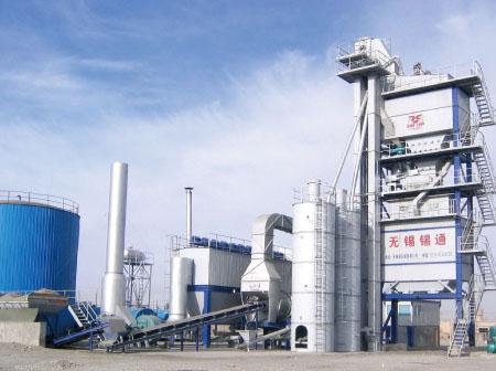锡通QLB-X2000下置式沥青混合料搅拌设备高清图 - 外观